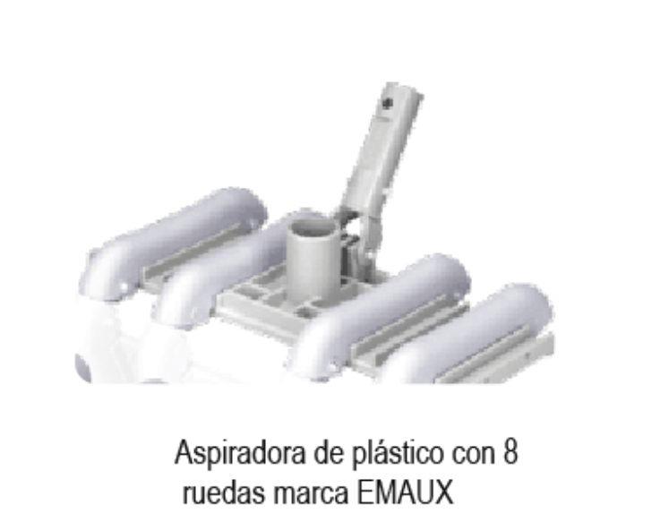 BARREDORA/ ASPIRADORA MARCA EMAUX