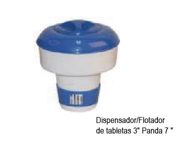 FLOTADOR DE TABLETAS DE CLORO PANDA
