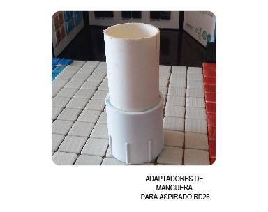 ADAPTADOR EN RD26 PARA MANGUERA