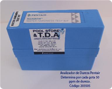 ANALIZADOR DE DUREZA PENTAIR