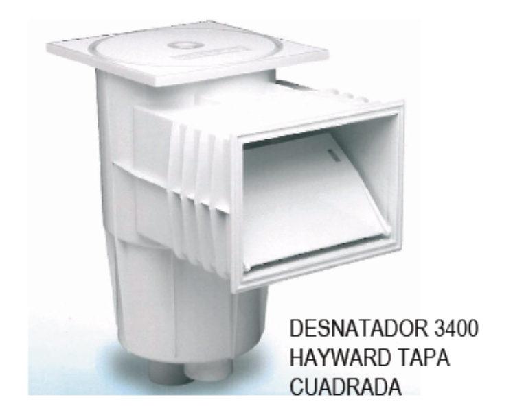 DESNATADOR / SKIMMER MOD. 3400 HAYWARD