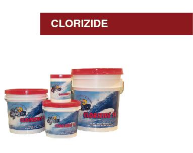 CLORIZIDE (CLORO 3 en 1)