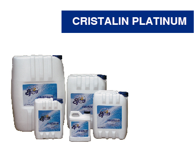 CRISTALIN GREEN Y PLATINUM (CLARIFICADOR DE AGUA COAGULANTE)