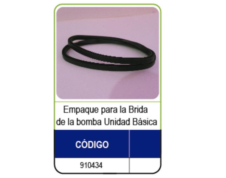 EMPAQUE PARA BOMBA UB DE LA BRIDA  (SPX1600T)