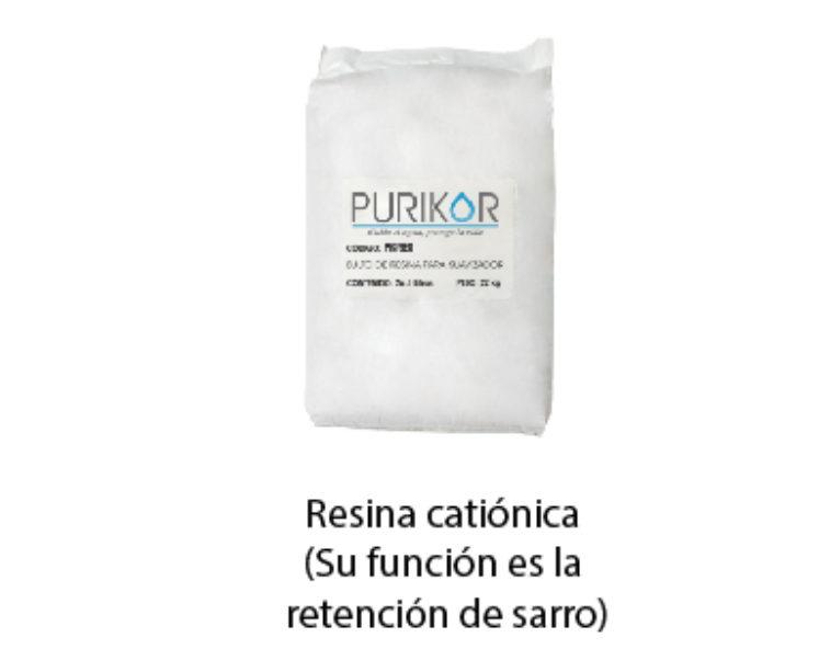 RESINA CATIONICA MARCA PURIKOR