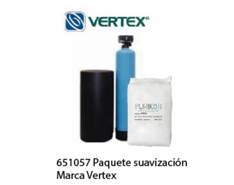 Paquete suavización Marca Vertex