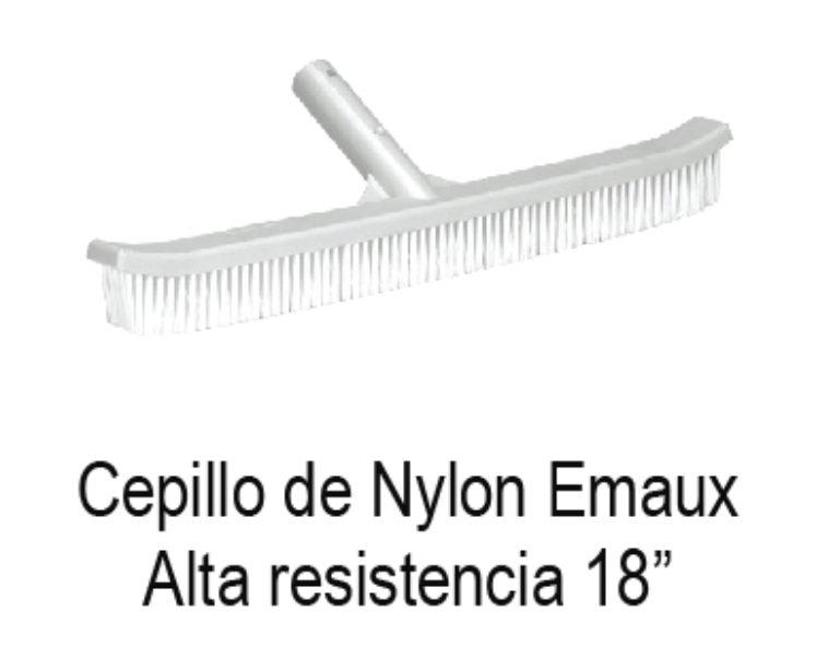 CEPILLO CON CERDAS DE NYLON MARCA EMAUX