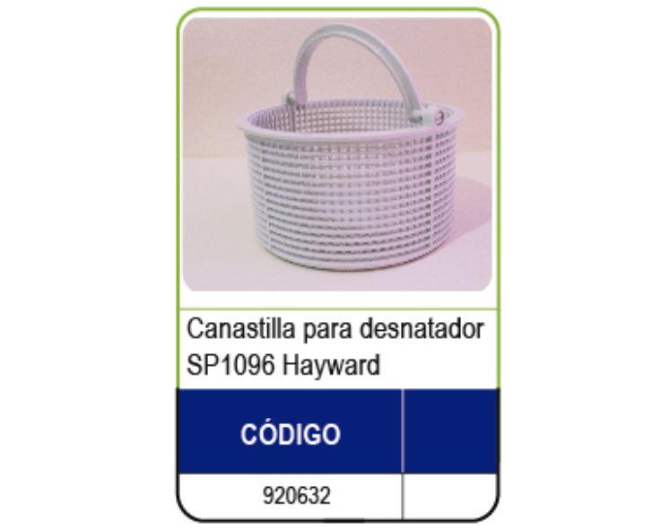 CANASTILLA PARA DESNATADOR SP1096 HAYWARD