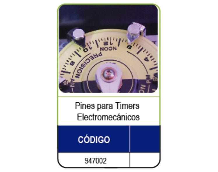 PIN DE ENCENDIDO PARA TIMERS ELECTROMECÀNICOS INTERMATIC O PANDA